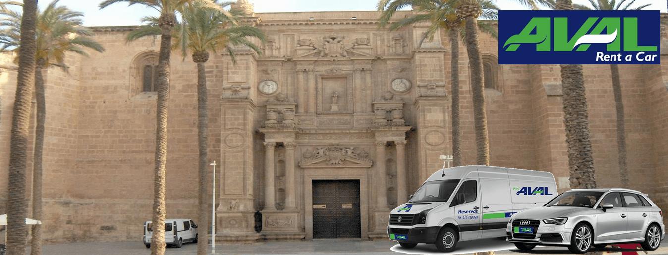 Alquiler de coches y furgonetas en almeria aval rent a car for Alquiler oficina almeria