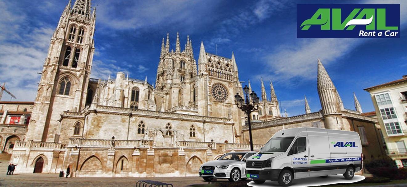 alquiler de coches y furgonetas en Burgos AVAL RENT A CAR