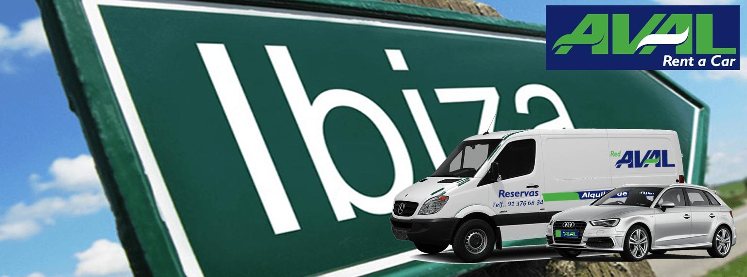 alquiler de coches y furgonetas en Ibiza AVAL RENT A CAR
