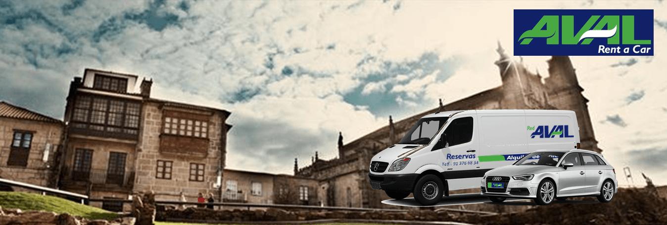 alquiler de coches y furgonetas en Pontevedra AVAL RENT A CAR