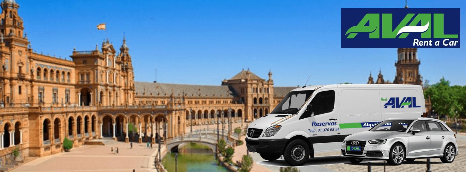 alquiler de coches y furgonetas en Sevilla AVAL RENT A CAR
