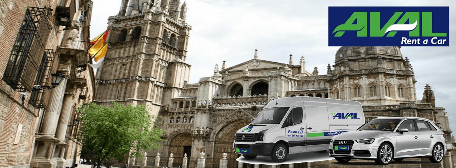 alquiler de coches y furgonetas en Toledo AVAL RENT A CAR