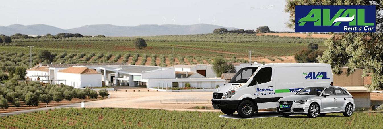 alquiler de coches y furgonetas en Valdepenas AVAL RENT A CAR