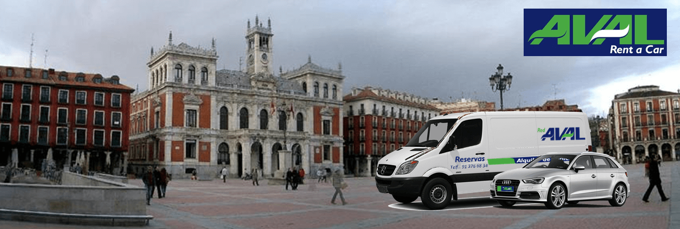 alquiler de coches y furgonetas en Valladolid AVAL RENT A CAR