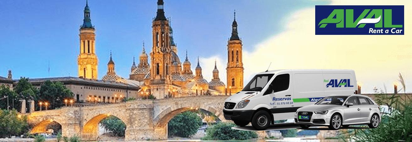 alquiler de coches y furgonetas en Zaragoza AVAL RENT A CAR